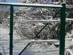 Металлический забор из сварной сетки, паркан 150х300см - фото 4