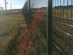 Металлический забор из сварной сетки, паркан 150х300см - фото 6