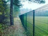 Металлический забор из сварной сетки, паркан 150х300см - фото 7