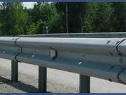 Металлическое дорожное ограждение барьерного типа по ТУ У В.