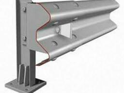 Металлическое мостовое ограждение барьерного типа 11МО