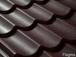 Металлочерепица Донецк RAL 8017 МАТ (шоколад)