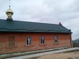 Металлочерепица МАТ зеленая Донецк RAL 6020 МАТ