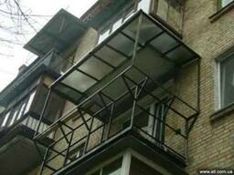 Металлокаркасы под балконы