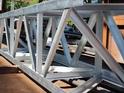 Строительные металлоконструкции. Закладные, каркасы, фермы, колоны. Гибка, резка, рубкаЧПУ