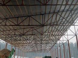 Металлоконструкции: ангар, навес, ферма, цех, склад, гараж