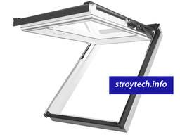 Металлопластиковое мансардное окно FAKRO поворотно-откидное