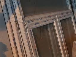 Металлопластиковые окна 1400 х 2040 мм