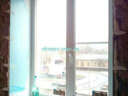 Металлопластиковое окно Rehau Ecosol ) GU uni-