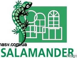 Металлопластиковое окно Salamander (4-16-4) Siegenia