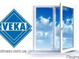 Металлопластиковое окно Veka Euroline (3-х кам. ) ENDOW