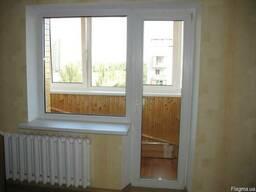 Металлопластиковые окна, двери, балконы, подоконники, отливы