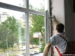 Металлопластиковые окна двери. Киев Обухов Украинка