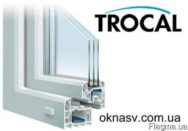 Металлопластиковые окна и двери Trocal Кривой Рог.