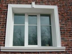 Металлопластиковые окна под старину