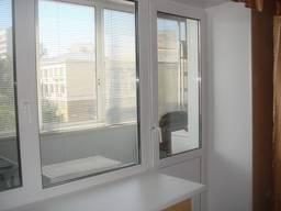 Металлопластиковые окна (ПВХ). Остекление балконов.