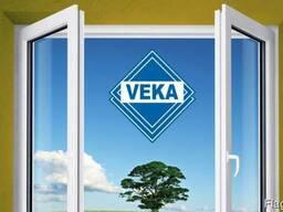 Металлоплатиковые окна Veka/Века немецкие окна