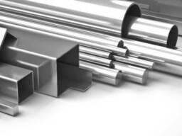 Трубы и уголок алюминиевый