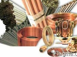 Металлопрокат цветной - медь, латунь, бронза, алюминий