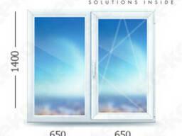 Металлопластиковые окна украинский профиль Steko S450
