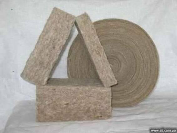 Межвенцовый утеплителя для деревянных домов, бань, саун