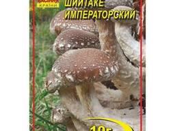 Мицелий гриба Шиитаке императорский 10г