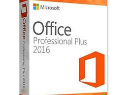 Microsoft Office 2016 Professional Plus ключ лицензия