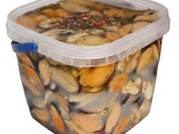 Мидии премиум 1, 3 кг в масле