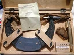Микрометр со вставками тип МВМ 150-175