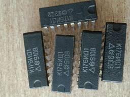 Микросхема К176 ИД1 ИД3 ИЕ5 ИЕ12 ИЕ13 ИЕ18 ИР10 ЛП4 ЛП12 ТМ2