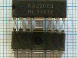 Микросхемы импортные KA2206 KA2130 KA2131 KA2142 KA2154 KA2201 KA2209 KA2213 KA2223