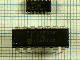 Микросхемы импортные PIC16F676 PIC16F73 PIC16F84A-04 PIC16F628 PIC16F630 PIC16F684