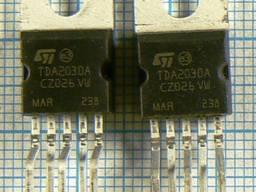 Микросхемы импортные TDA2030 TDA1905 TDA1940 TDA1950 TDA2003 TDA2004 TDA2005 TDA2006