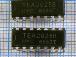 Микросхемы импортные TEA2025 TEA1533 TEA2014 TEA2031 TEA2261 TEA5101 TEA5710 TDA16888