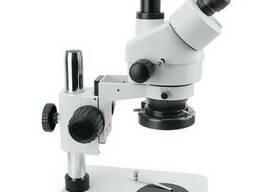 Микроскоп Bakku BA-008, Мин. освещенность 2 Lux, Увелич. 0.7x -4.5x, Внеш. БП DC12V. ..