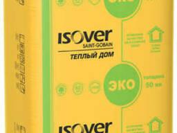 Мінеральна вата Ізовер (Isover) Теплий дім, 50X610X1170 мм