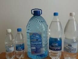 """Мінеральні природна столова вода """"білогірська"""""""