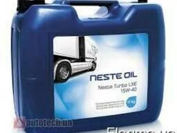 Минеральное моторное масло Neste Turbo LXE 15W-40 200 л