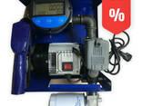Мини АЗС 220 в 70 л. мин Авто Стоп счетчик OGM 25 E - фото 1
