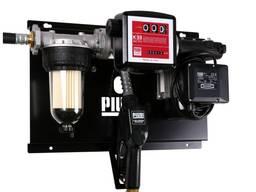 Мини АЗС 220В 56л/мин PIUSI Италия с фильтром сепаратором во