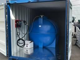 Мини АЗС 5000 литров емкость для ДТ (дизеля)