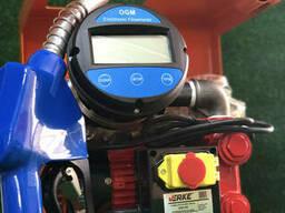 Мини азс для перекачки дизеля Verke cо счетчиком OGM 25 e
