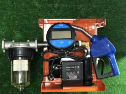 Мини азс DTP 60AC 220 v электронным счетчиком OGM-25 E