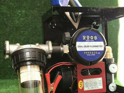 Мини азс DYB 70 A 12 v для перекачки дизеля с механическим счетчиком OGM 25 N