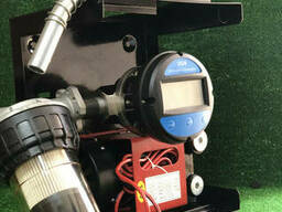 Мини азс DYB-70A 12 в для перекачки дизеля с электронным счетчика OGM 25 E