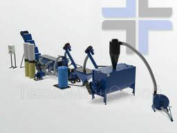Мини линия для производства комбикорма МЛГ-1000 Combi с горизонтальным кормовым. ..