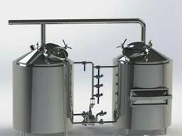 Минипивоварня на 300 литров (эль, лагер)