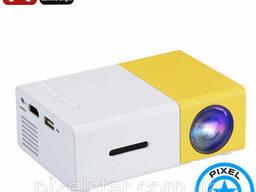 Мини Портативный светодиодный проектор YG300 1080P. ..