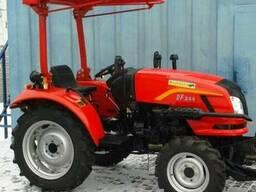 Мини-трактор Dongfeng-244 (Донгфенг-244) с козырьком