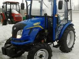 Мини-трактор Dongfeng / Донгфенг-244C с обновленной кабиной